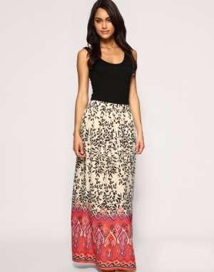 Как подобрать и с чем носить трендовую юбку макси