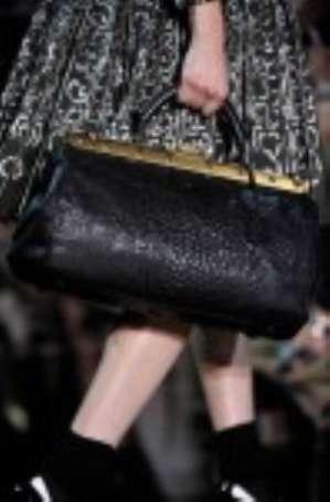 Модные тенденции сумок 2012: кожаный саквояж «гладстон»