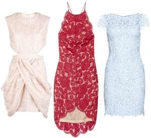 Топ 10 кружевных платьев для лета 2013