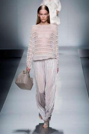 Прозрачная одежда и прозрачные вставки - модный тренд весенне-летнего сезона 2013