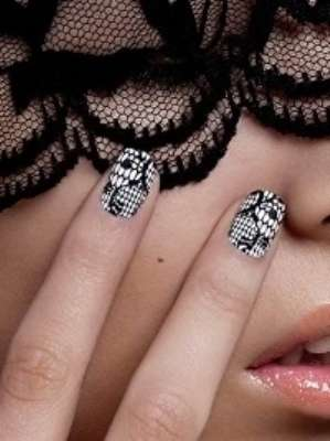 Новый модный дизайн ногтей