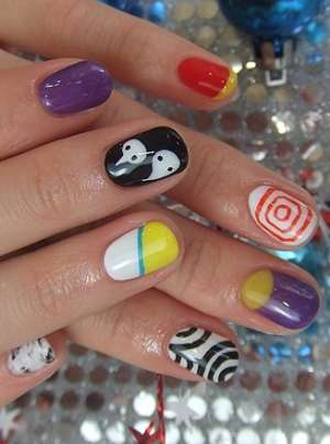 Кокетливые идеи зимнего дизайна ногтей