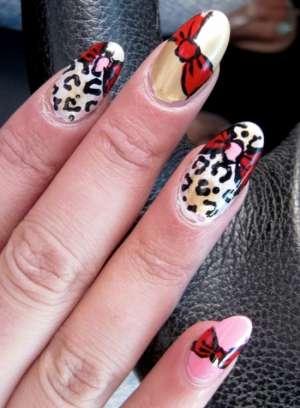 Кокетливые цветные идеи декора ногтей