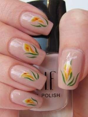 Стильный и простой дизайн ногтей