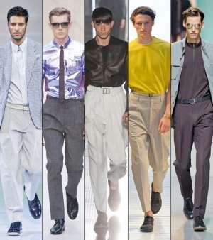 Мужские брюки со стрелками. Новый тренд?