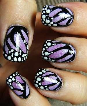 Соблазнительный дизайн ногтей