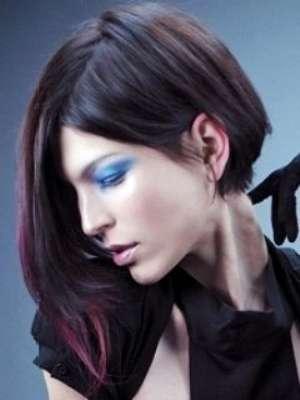 Стильное мелирование для темных волос