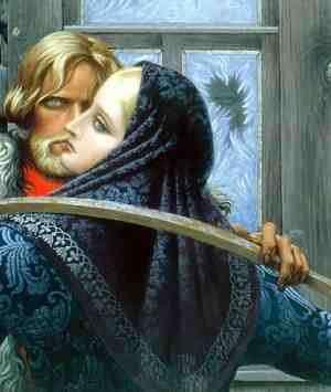 Русская женщина на полотнах Константина Васильева