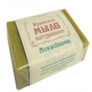 Крымское мыло натуральное ручной работы Можжевельник. Отзыв