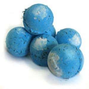 Бомба для ванны «Большая синяя бомба» от Lush. Отзыв