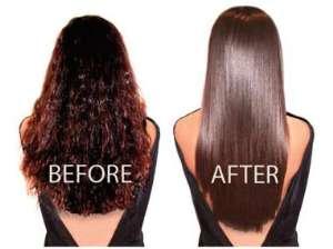Кератиновое выпрямление волос сделает волосы идеально гладкими