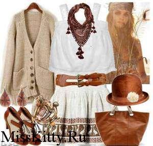 Стиль кантри, одежда, аксессуары, шляпа