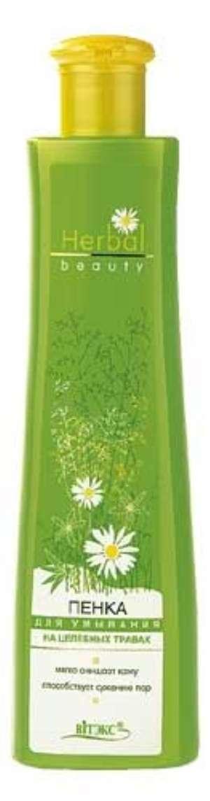 Белорусская пенка для умывания Herbal beauty от Витекс: отзыв