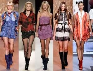 Тенденции моды весна лето 2011