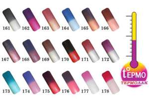 Термолак для ногтей – модный тренд маникюра