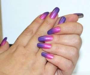 Термолак для ногтей - модный тренд маникюра