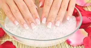 Ванночки для ломких ногтей