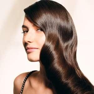 Как усилить блеск волос?