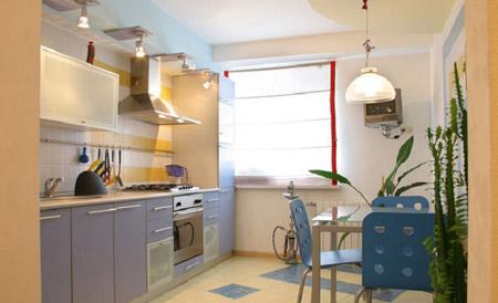 Планировка рабочей зоны кухни