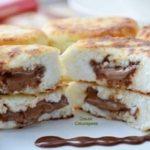Творожные сырники с молочным шоколадом...