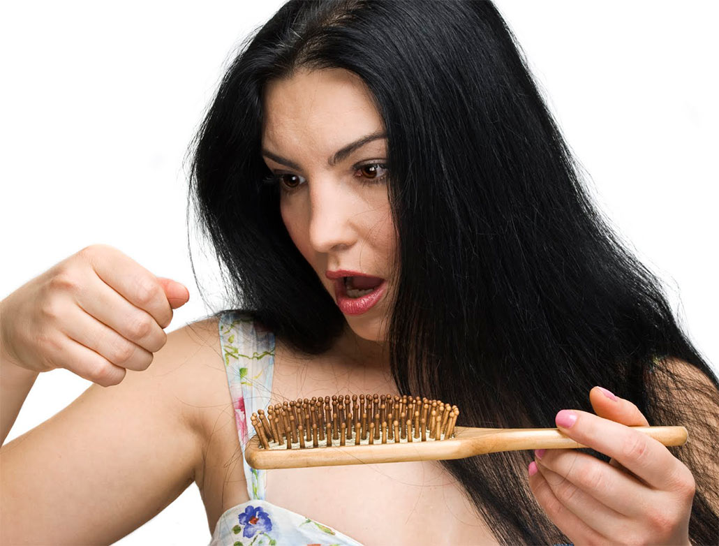 Против выпадения волос у женщин