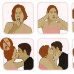 Эмоции и ласки: как правильно целоваться