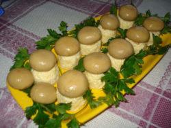 Французский салат «Шампиньон»