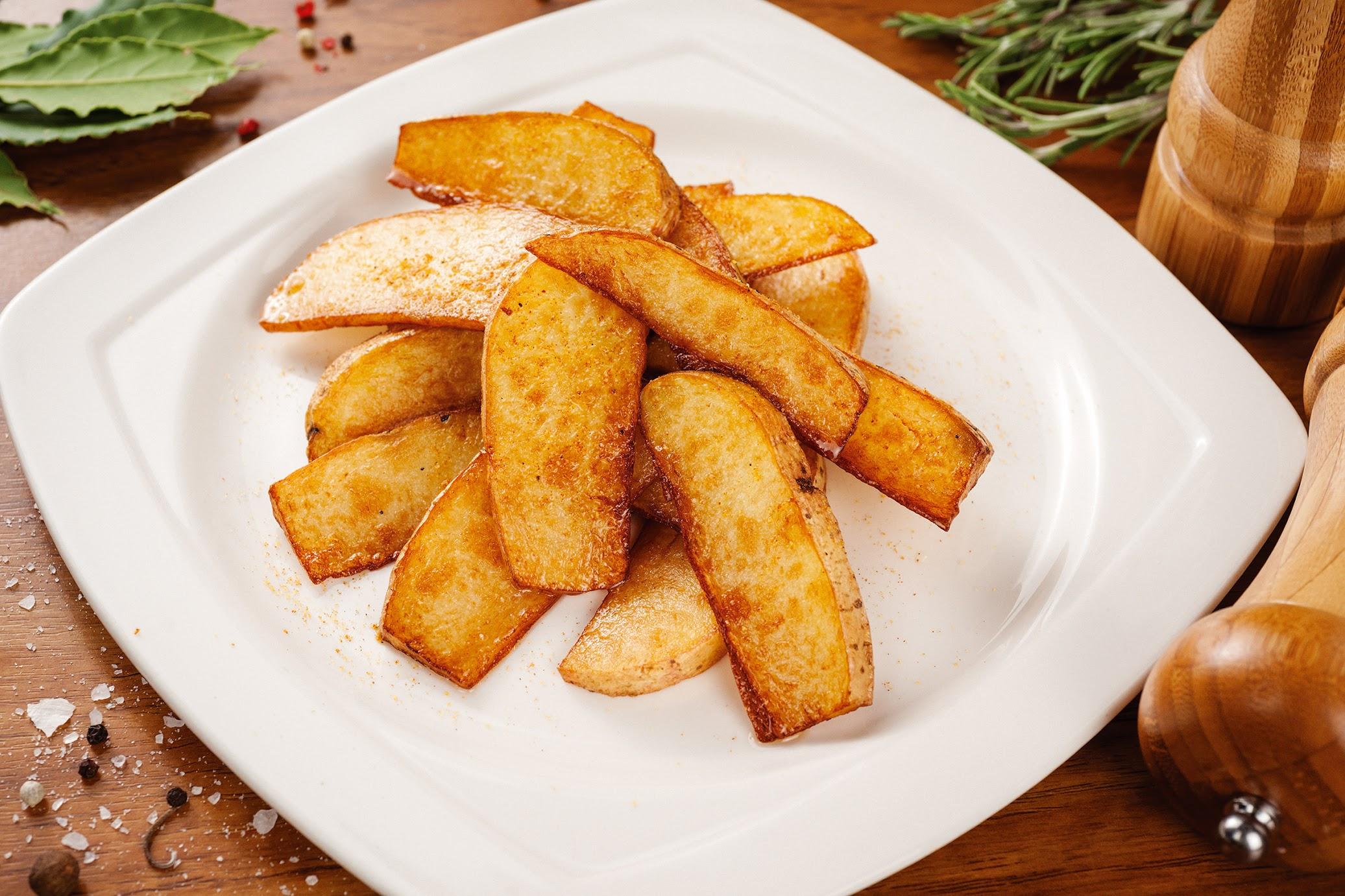 Как готовиться жареная картошка