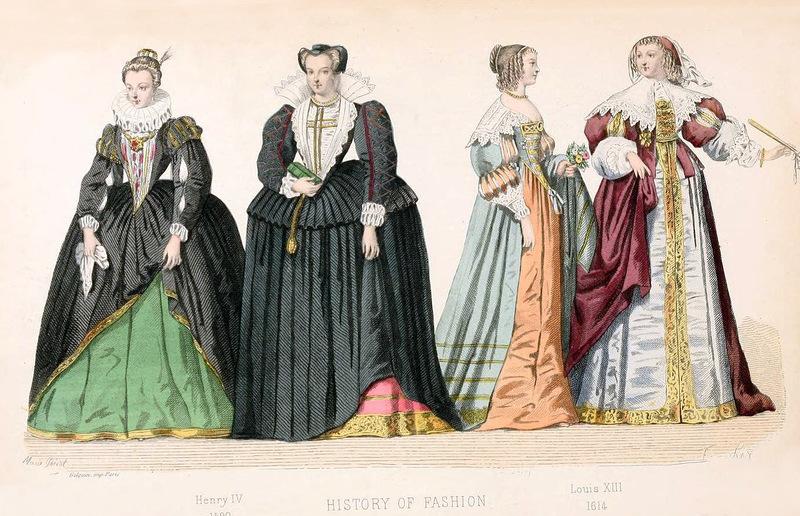 Из истории французской моды